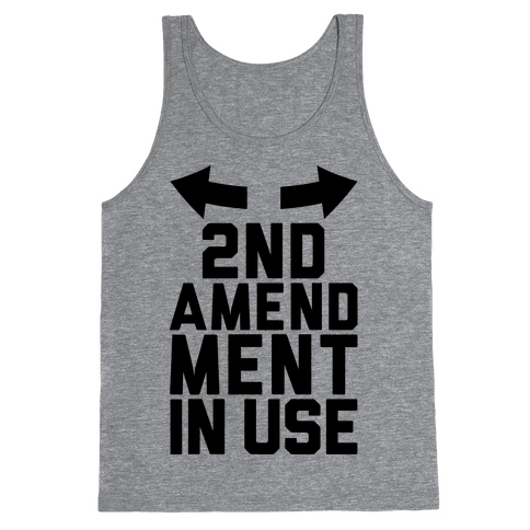 2nd Amendment In Use Tank Top