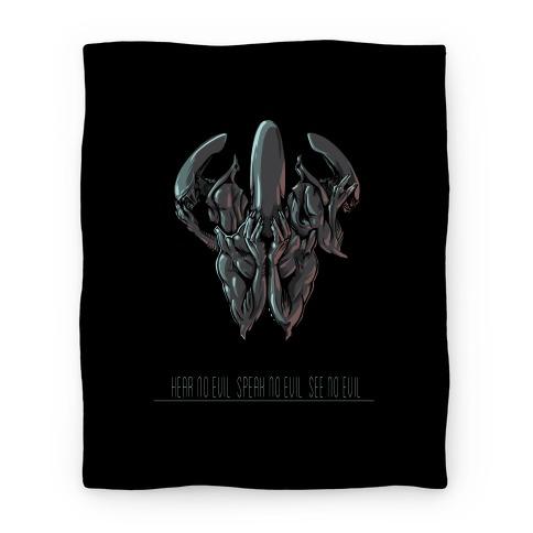 Aliens Blanket Blanket