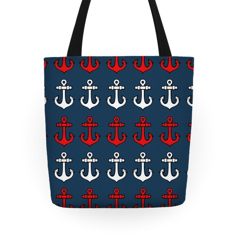 Anchor Pattern Tote