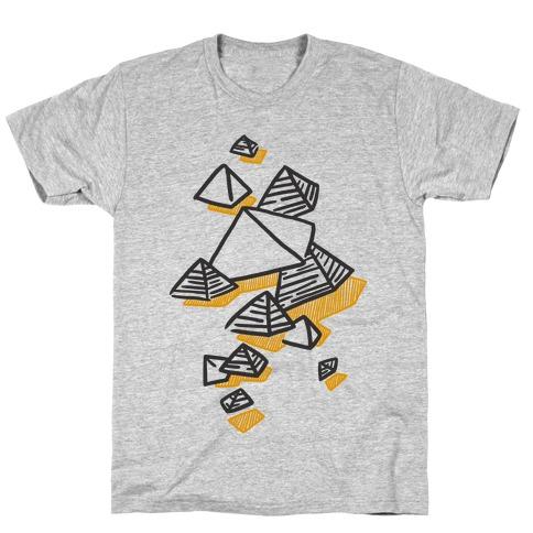 Geometric Pyramids T-Shirt