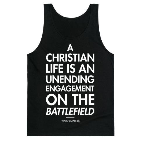 """Christian Life"" Watchman Nee Tank Top"