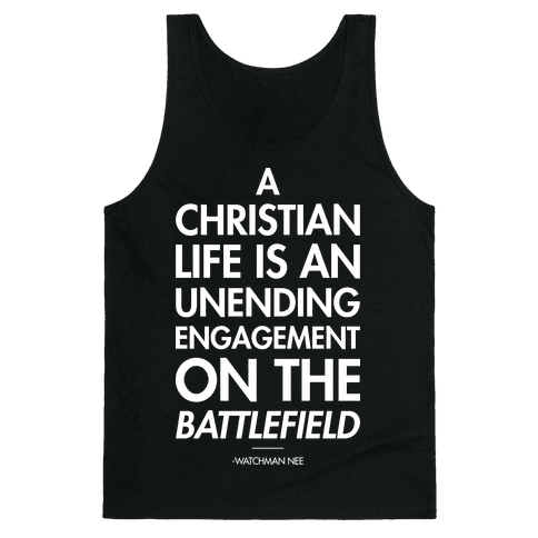 """Christian Life"" Watchman Nee Tank Top"