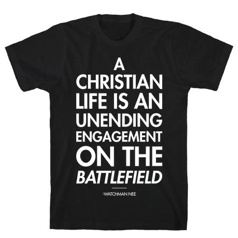 """Christian Life"" Watchman Nee Mens/Unisex T-Shirt"