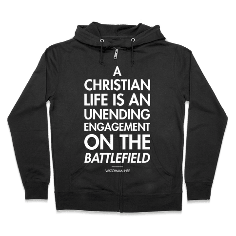 """Christian Life"" Watchman Nee Zip Hoodie"