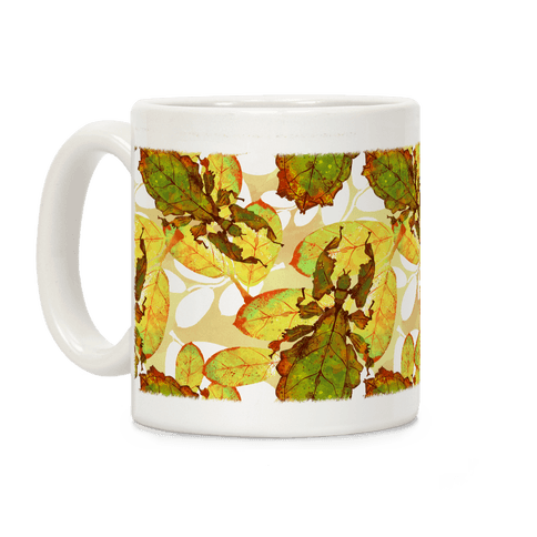 Phylliidae Walking Leaf Coffee Mug
