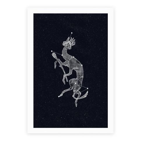 Deer God Stars Poster