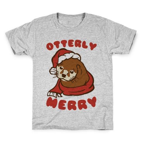 Otterly Merry Kids T-Shirt