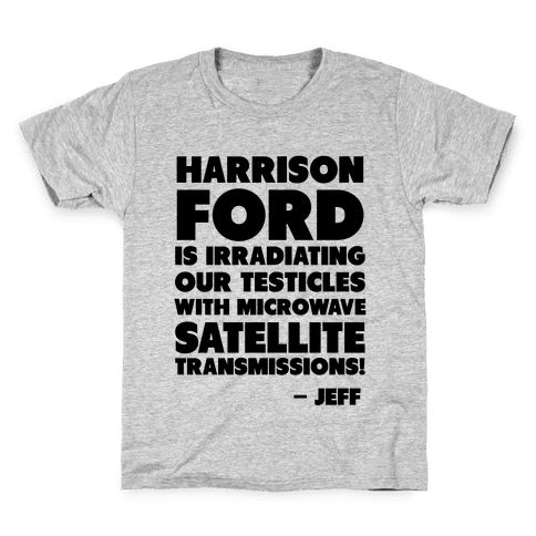 Jeff Quote Kids T-Shirt