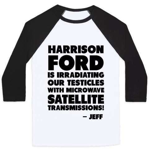 Jeff Quote Baseball Tee