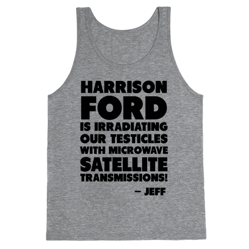 Jeff Quote Tank Top