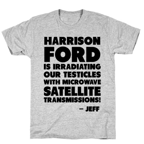 Jeff Quote Mens T-Shirt