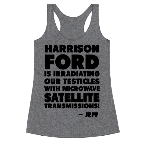 Jeff Quote Racerback Tank Top