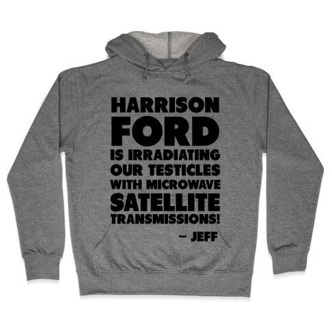 Jeff Quote Hooded Sweatshirt