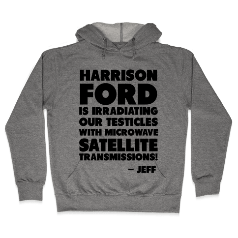 Jeff Quote Hooded Sweatshirt