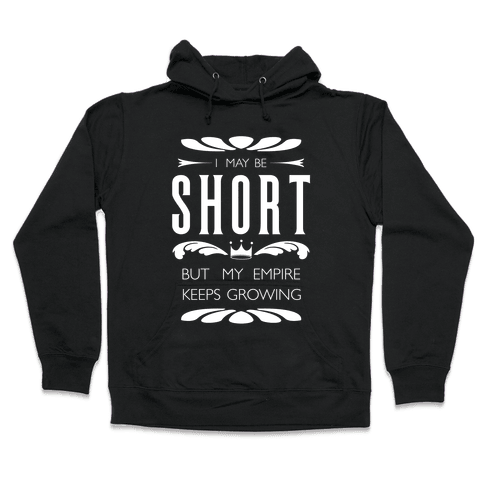 Short Girl Empire Hooded Sweatshirt