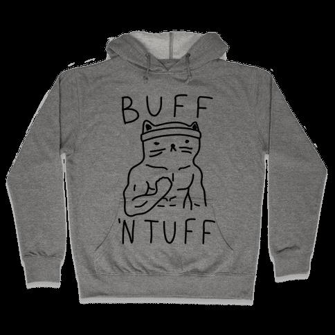 Buff 'N Tuff Cat Hooded Sweatshirt