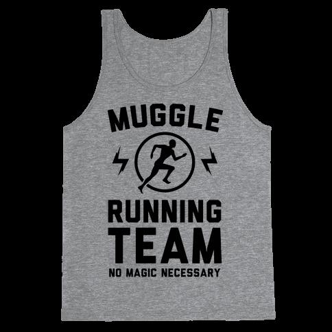 Muggle Running Team - No Magic Necessary Tank Top