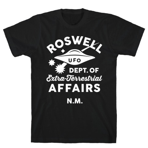Roswell Department Of Extra-Terrestrial Affairs T-Shirt