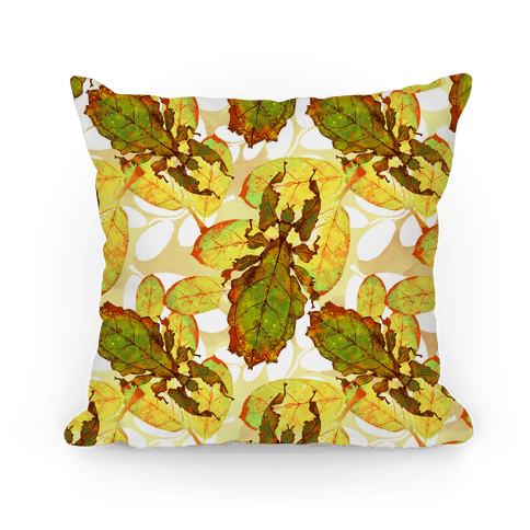 Phylliidae Walking Leaf Pillow