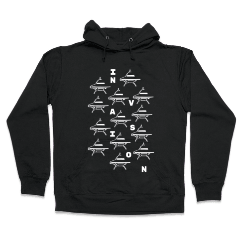 UFO Invasion Hooded Sweatshirt