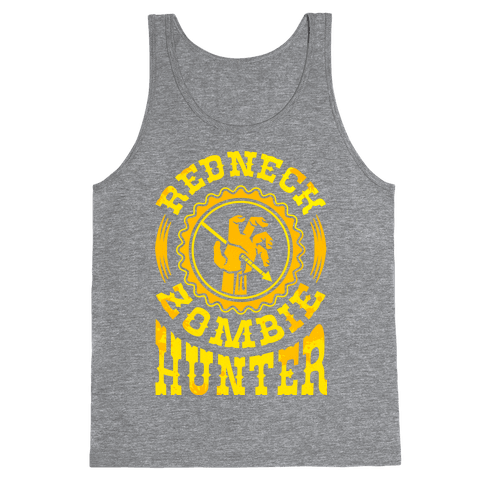 Redneck Zombie Hunter Tank Top