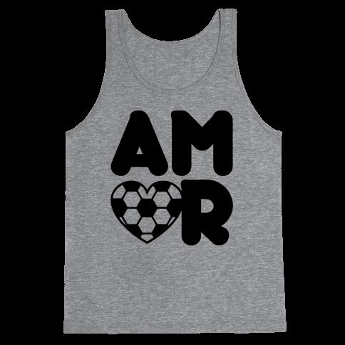 Soccer Amor Tank Top