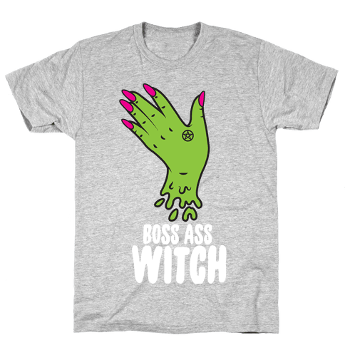 Boss Ass Witch Mens T-Shirt