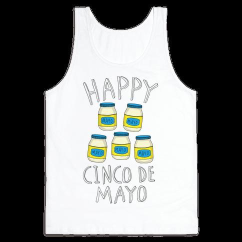 Happy Cinco De Mayo (Mayo Jars) Tank Top