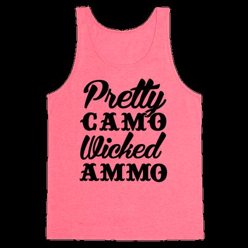 Pretty Camo Wicked Ammo Tank Top