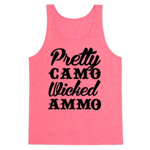 Pretty Camo Wicked Ammo Tank Top