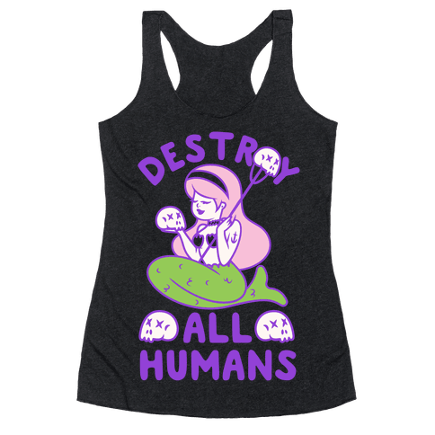 Destroy All Humans Racerback Tank Top