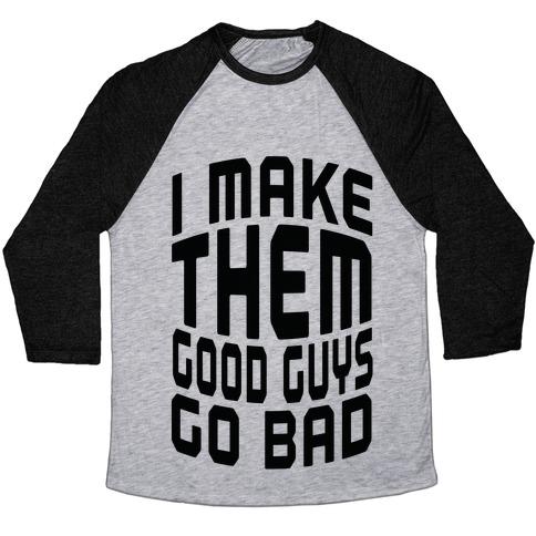 Turning Good Guys Baseball Tee LookHUMAN - Good guys clothing