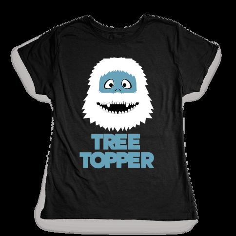 Tree Topper Womens T-Shirt