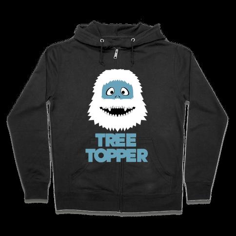 Tree Topper Zip Hoodie