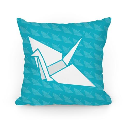 Origami Crane Pillow