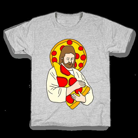 Pizza Jesus Kids T-Shirt