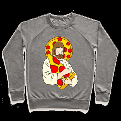 Pizza Jesus Pullover