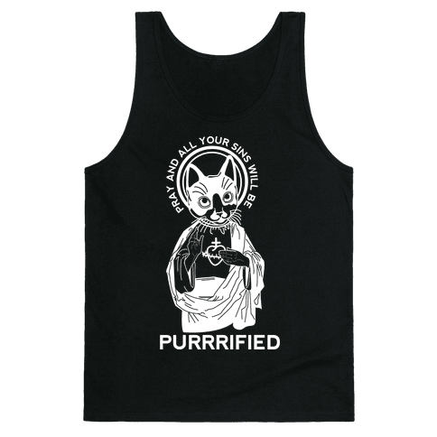 Purrrified Tank Top