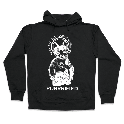 Purrrified Hooded Sweatshirt