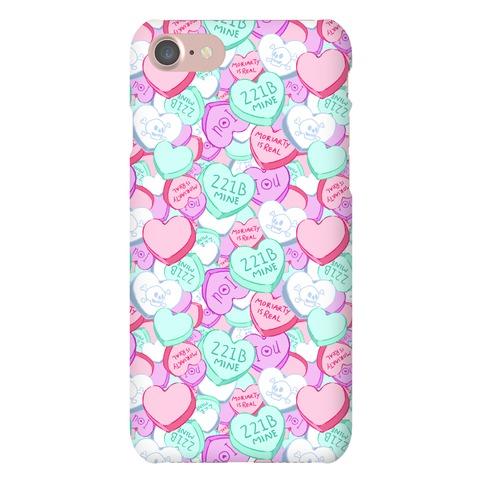Sherlock Valentines Hearts Phone Case