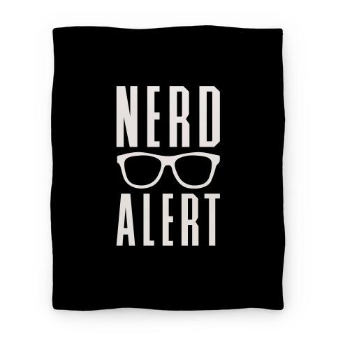 Nerd Alert Blanket