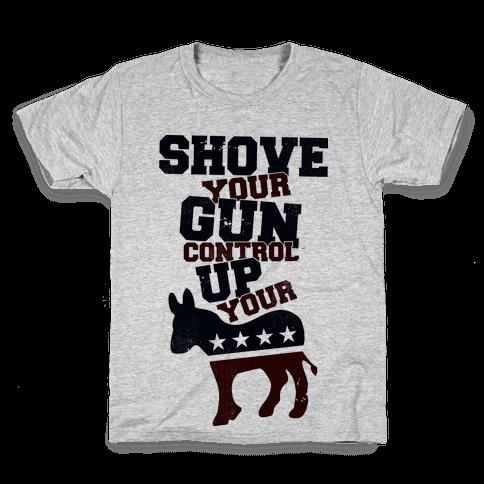 Shove Your Control Kids T-Shirt