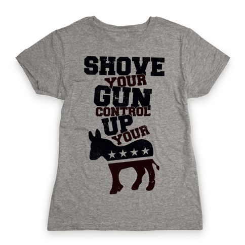 Shove Your Control Womens T-Shirt