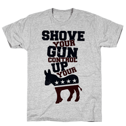 Shove Your Control Mens T-Shirt