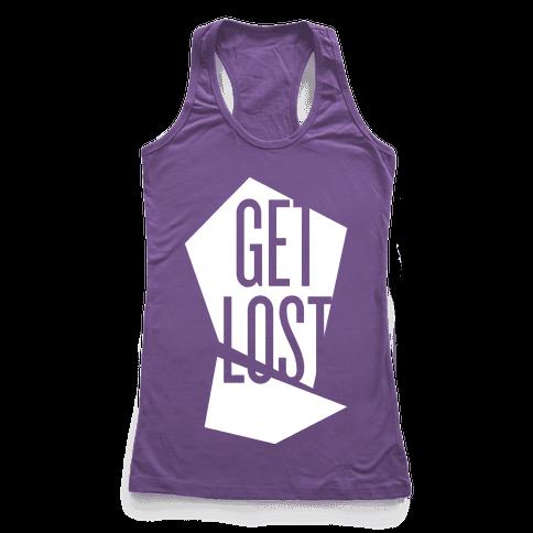 Get Lost Racerback Tank Top