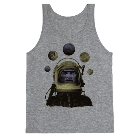 Space Olmec Tank Top