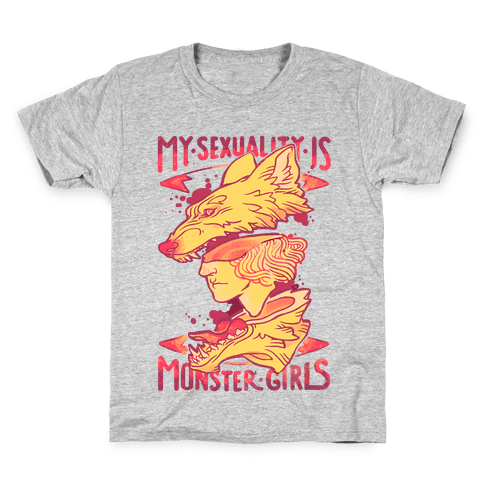 My Sexuality Is Monster Girls Kids T-Shirt