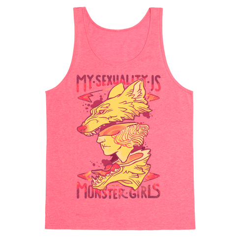 My Sexuality Is Monster Girls Tank Top