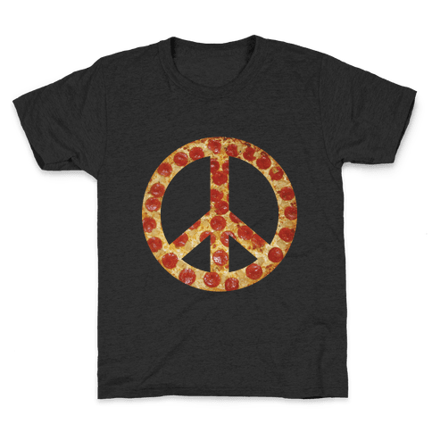 Peace Of Pizza Kids T-Shirt