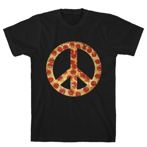 Peace Of Pizza T-Shirt